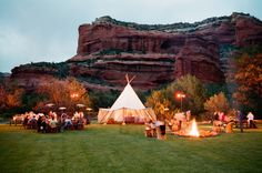 Enchantment Resort in Sedona, Arizona: http://www.stylemepretty.com/2015/04/27/30-amazing-wedding-venues/
