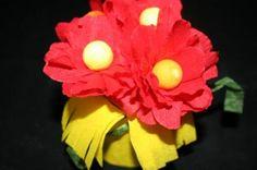 Bouquet de fleur en papier - Activité manuelle et bricolage pour enfant