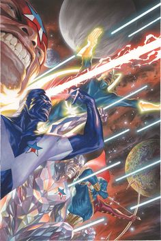 Guardians of the Galaxy 3000 •Alex Ross