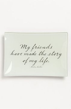 Ben's Garden 'My Friends' Trinket Tray | Nordstrom