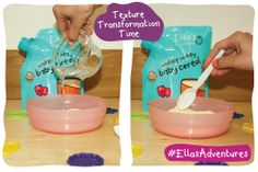 What's more fun than exploring exciting transformations?! This #TTBA changes from one thing to another right before your eyes! You will need a bag of our Wakey Wakey Baby Cereal, a bowl, spoon, and cup water! For more #EllasAdventures head here! http://ell.as/ai3uYo0