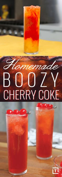 Sure you could just order a Jack and Coke, but where's the fun in that? Instead make BravoTV's boozy cherry Coke that's got a totally, 100% homemade cherry cola recipe, whiskey, and cherries for garnish.