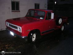 Photo of a 1970 International Harvester 1100 Pickup (Harvester)
