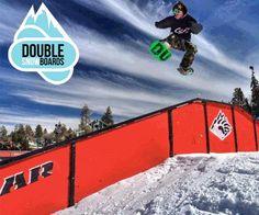 Snowboard freestyle mini deski twinboard Dual fun