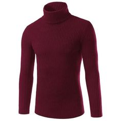 Purchase Fashion casual turtleneck sweater Men's autumn and winter solid color vertical sweater from on OpenSky. Share and compare all Sweaters Male Sweaters, Casual Sweaters, Pullover Sweaters, Sweater Shop, Men Sweater, Jumper, Sweater Fashion, Swagg, Men Casual