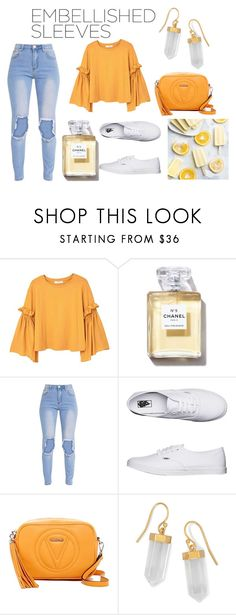 """""""Orange"""" by acole0116 ❤ liked on Polyvore featuring MANGO, Vans, Mario Valentino and BillyTheTree"""
