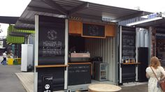 container coffee