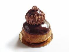 Religieuse au chocolat - Recette Olivia Pâtisse