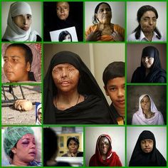 These women who disobey have acid thrown on their faces. This is the face of sharia law and the Muslim Brotherhood. YOUR government (under Obama) gives money to the Muslim Brotherhood. Stop closing your eyes to this. Demand that the government help these women.