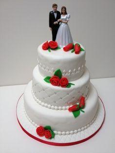 Mijn eerste bruidstaart
