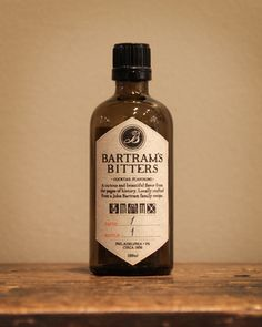 Bartram's Bitters....to be used in a signature cocktail