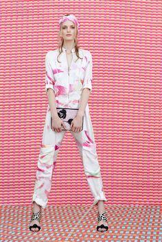 Matthew Williamson Resort 2015 Fashion Show - Magdalena Langrova