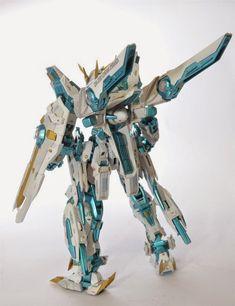 Custom Build: 1/100 GNA-X000 Gundam Speranza - Gundam Kits Collection News and Reviews