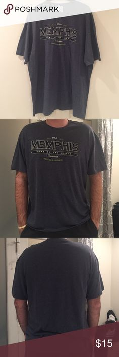Memphis home of the blues Tennessee Men's Tee Memphis home of the blues Tennessee American Original Men's T shirt, brand new!! never worn. Size 2XL Delta Pro weight Shirts Tees - Short Sleeve