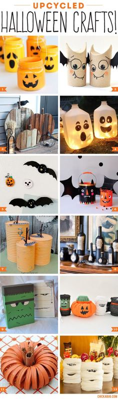 This year try making your own upcycled Halloween decorations These - halloween milk jug decorations