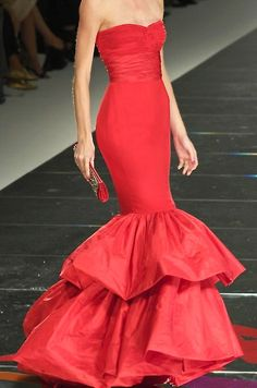 Valentino http://pinterest.com/nfordzho/boards/  Im about the only fool who would rock this as my wedding dress and love every minute