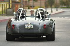 Hand built Shelby Cobra heading South from the Temecula Valley Motoring Enthusiasts meet in Temecula, California