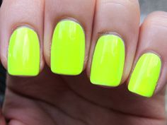 Neon yellow/lime green