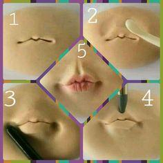 Modelado de boca