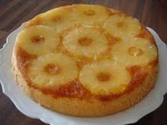 Gâteau à l'ananas caramélisé avec thermomix