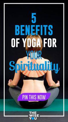 5 Benefits of Yoga for Your Spirituality Yoga For Seniors, Yoga For You, Mood Enhancers, Improve Posture, Yoga Benefits, Holistic Healing, Spiritual Growth, Spiritual Awakening, Self Development
