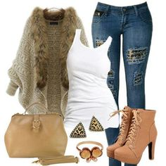 Beautiful tan fashions