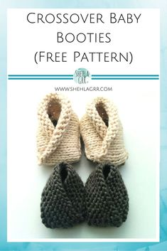 Click below link for free pattern… Crochet Baby Booties – Top 40 Free Crochet Patterns ⋆ Diy Knitting For Kids, Baby Knitting Patterns, Crochet For Kids, Loom Knitting, Baby Patterns, Free Knitting, Knitting Projects, Knitting Sweaters, Knitted Booties