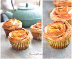 Rozen appeltaartjes met speltmeel (onderaan recept)