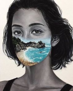Beau Bernier Frank is an emerging artist on the rise based out of California. His paintings feature both figurative and landscape work. Art Sketches, Art Drawings, Surealism Art, Art Alevel, Photoshop, A Level Art, Ap Art, Surreal Art, Art Plastique