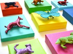 7 eco-friendly inexpensive crafts that are fun for boys and girls 3 Kids Crafts, Craft Activities For Kids, Diy And Crafts, Craft Projects, Arts And Crafts, Recycled Crafts, Simple Crafts, Diy Wall Art, Diy Art