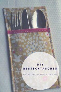DIY Bestecktaschen
