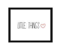 Little things 2, Plakaty w ramie