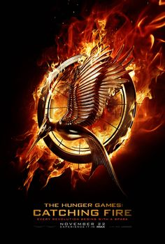 Every Revolution Begins With A Spark. The new teaser poster for The Hunger Games: #CatchingFire. #TheSpark