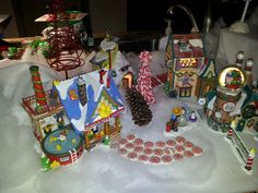 A tiny piece of my Department 56 North Pole village.