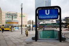 Alexanderplatz in Berlin, Germany! This is where it's at!