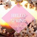 Hello Spring Benvenuta Primavera