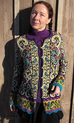 Ravelry: Wollgas' Fitted Jacket