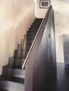 Gummibelegg i trappa