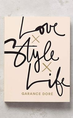 Love, Style, Life #anthrofave