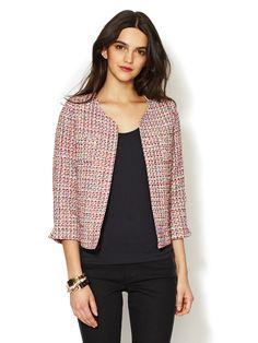 Structured Tweed Jacket by Alex + Alex at Gilt