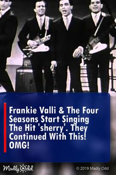 """""""The Four Seasons"""" who brought Falsetto to Pop wow as much today as they did when this medley took the room by storm! Classic Rock And Roll, Classic Tv, Music Sing, Live Music, Songs From Grease, Frankie Valli, Jersey Boys, Music Charts, Hit Songs"""