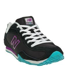 Love this Black & Purple 442 Sneaker by New Balance on #zulily! #zulilyfinds