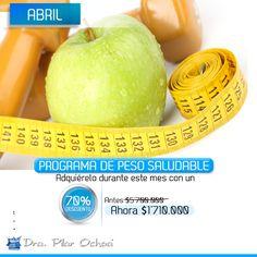 Durante el mes de #Abril encuentra mi #ProgramaPesoSaludablePilarOchoa con un 70% de descuento. Para que luzcas esa figura que siempre has anhelado. Conócelo en www.mdpilarochoa.com #DraPilarOchoa #BellezaSaludable Imagen vía #Pinterest