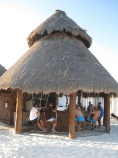 Secrets Maroma Beach Riviera Cancun: Beach bar.