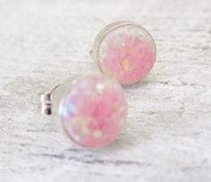 Hey, I found this really awesome Etsy listing at https://www.etsy.com/listing/193057301/pink-opal-earrings-sterling-silver-opal