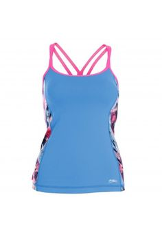 Sofibella Spectrum Athletic Cami Reflect Blue 1492-rbl