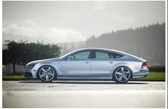 Once in a while a unique and interesting car comes along. Today that car is the new Audi In this new segment of four door coupes, the Audi has made a striking statement with a most appealing style! 2013 Audi A7, Audi 2017, Audi A8, Audi Quattro, Limousine, Car Manufacturers, Automotive Design, My Ride, Hot Cars