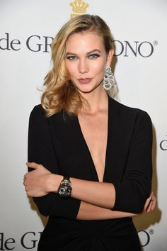 Karlie Kloss in De Grisogono Launches a New Watch