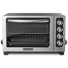 KitchenAid KCO222QG 12' Countertop Oven - Liquid Graphite -- You can get additional details at the image link.