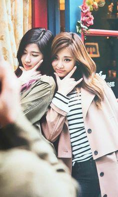 Sana with Swag Tzuyu